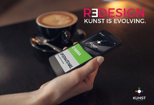 REDESIGN - KUNST is evolving.