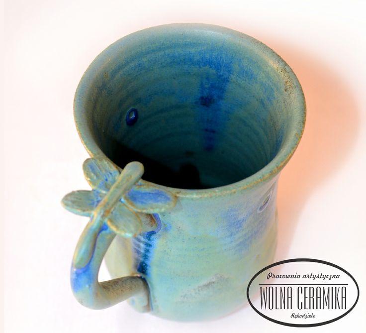 """Dragonfly"" mug."