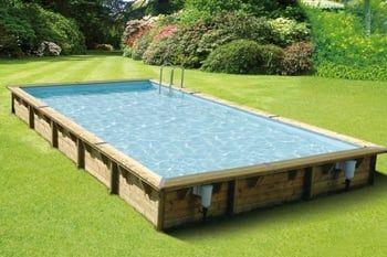 Une piscine hors sol XXL