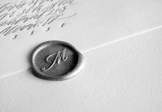 Uruguay-Calligraphy-Letterpress-Wedding-Invitations-Blackbird-Letterpress-Wax-Seal
