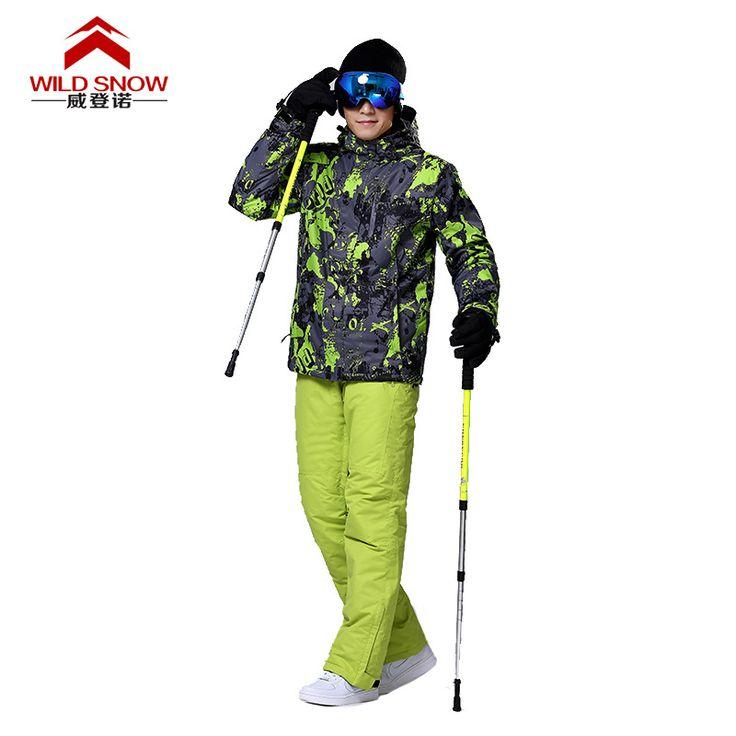 Aliexpress.com: Comprar Los más nuevos Hombres de la Chaqueta + pantalones de Snowboard Chaquetas de Deportes a prueba de Viento Impermeable Transpirable Esquí de Nieve Ropa de Invierno Trajes de Esquí XXL de ropa de los niños fiable proveedores en SportsOutdoors Store