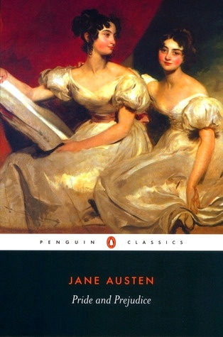 Pride and Prejudice Book Cover from Penguin Classic