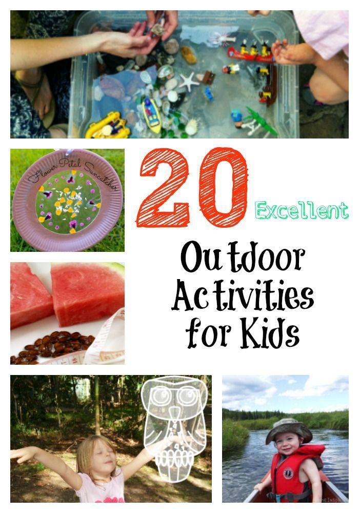 20 excellent outdoor activities for kids to help nourish their love rh pinterest com