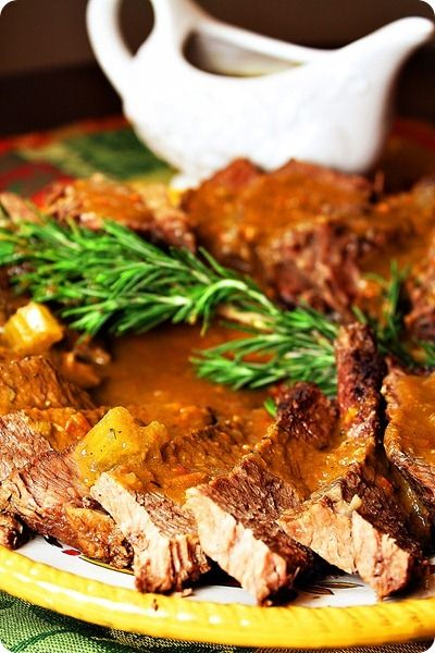 Traditional Yankee Pot Roast