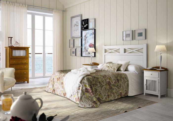 Muebles cl sicos originales en varios colores dormitorio - Combinar muebles en color cerezo y blanco ...