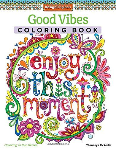 Good Vibes Coloring Book Activity