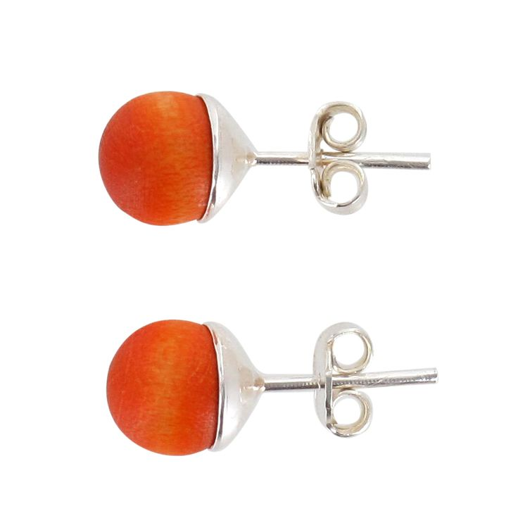 Aarikka - Earrings : Marja earrings. The small but delightful Marja is a classic and its colour range changes with the seasons. Designer: Kaija Aarikka.