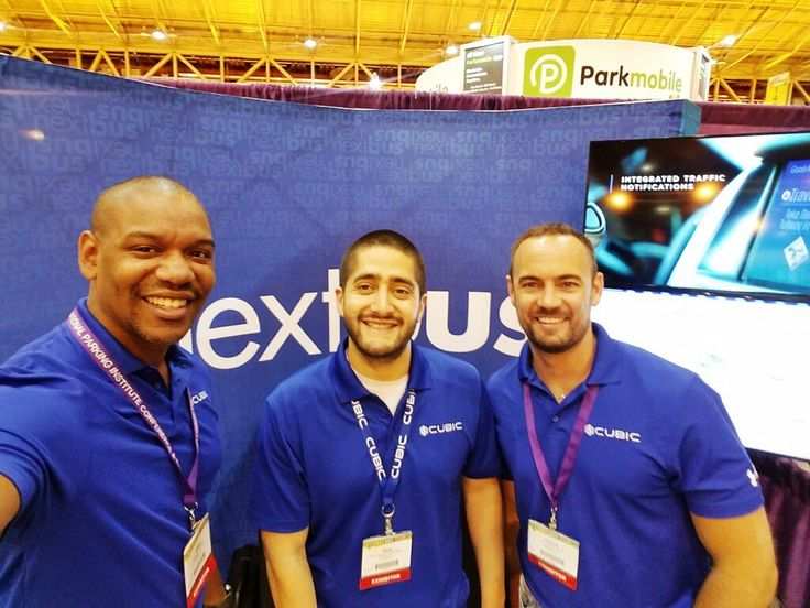 NextBus provides real time passenger information by tracking vehicles and predicting their arrival times. The service is used by 135 transit agencies and more than 300m riders, and is also provided at LED signs at bus stops and transit stations. Here's a fun office selfie from the cheerful NextBus team who attended the recent IPI2017 event.