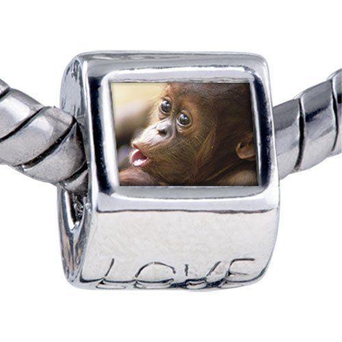 Pugster Bead Goofy Monkey Beads Fits Pandora Bracelet Pugster. $12.49. Unthreaded European story bracelet design; Hole size is approximately 4.8 to 5mm; Bracelet sold separately; It's the photo on the love charm; Fit Pandora, Biagi, and Chamilia Charm Bead Bracelets