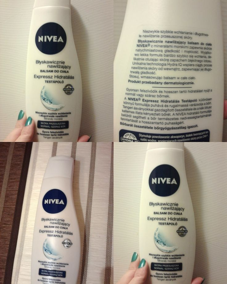 The Perfect Lady: Recenzja Balsamu Nivea
