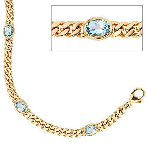 Damen-Armband 4 blautopase 14 Karat (585) Gelbgold 4 Topas 19 cm Dreambase, http://www.amazon.de/dp/B0097R7CQW/ref=cm_sw_r_pi_dp_gXnSsb0STTQ3Q
