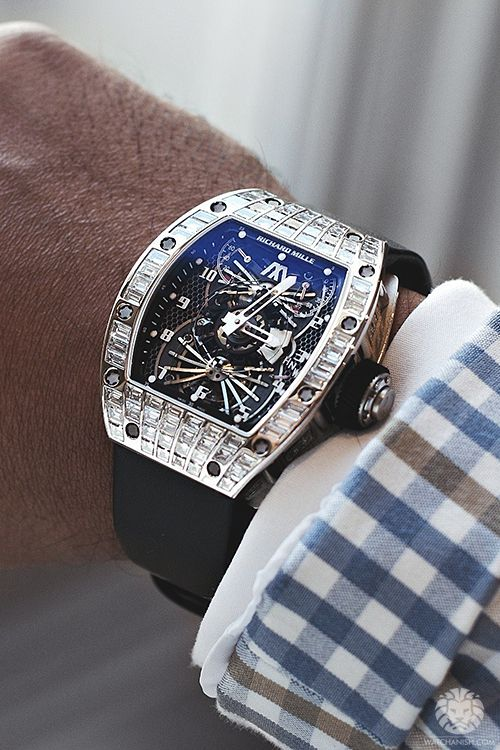 Richard Mille RM022 Aerodyne Tourbillon.