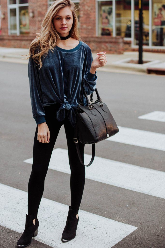 Cali Girl Velvet Sweatshirt