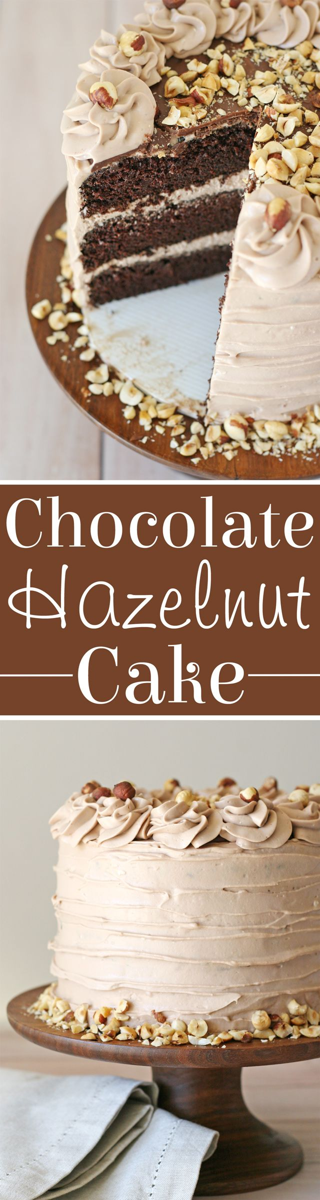 Chocolate Hazelnut Cake Recipe... YUM! ~ Glorious Treats