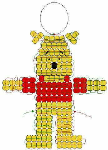 344 best pony bead images on bead weaving