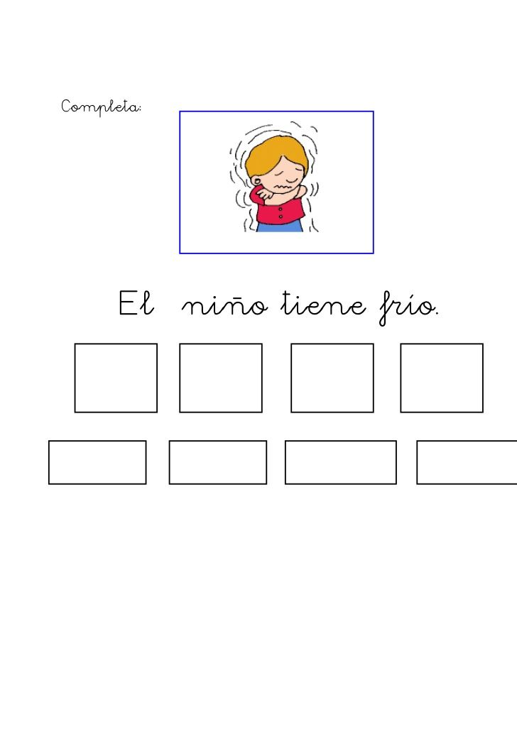 Formación de frases