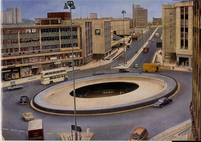 Sheffield: 'City on the Move', 1970s by Sheffield Libraries and Archives, via Flickr #socialsheffield #sheffield