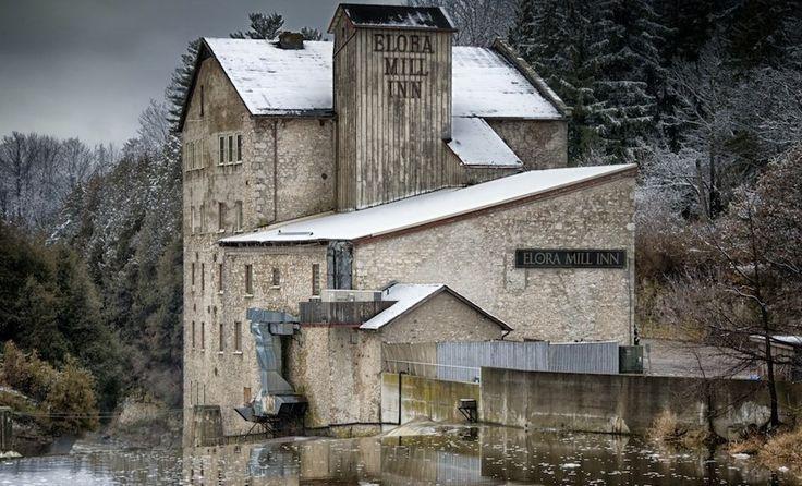 Elora Mill Inn, Elora, Canada © Brian Desrosiers Photography/Flickr [modified]