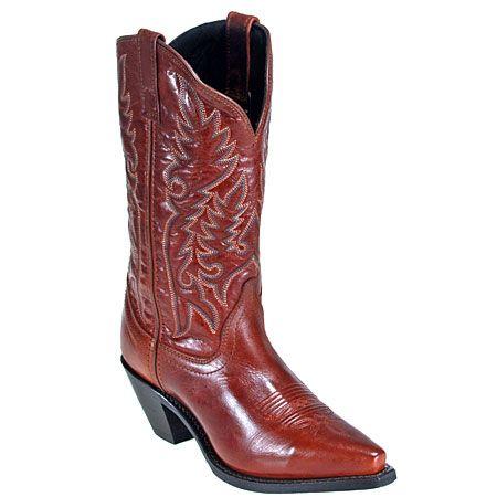 Laredo Boots 51059 Womens Burnt Orange Wellington Boots