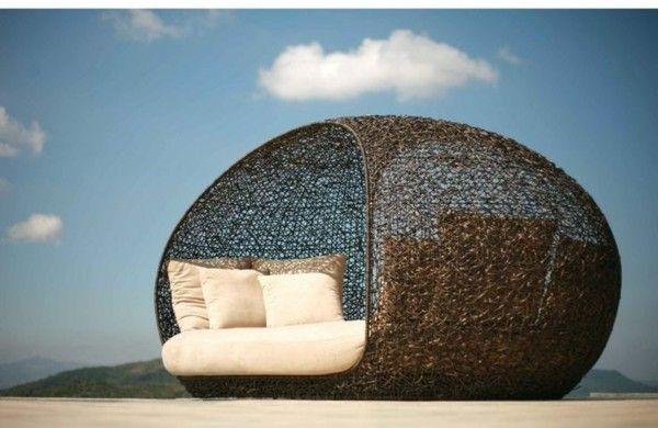 45 outdoor rattanmöbel - modernes gartenmöbel set und lounge, Gartenarbeit ideen