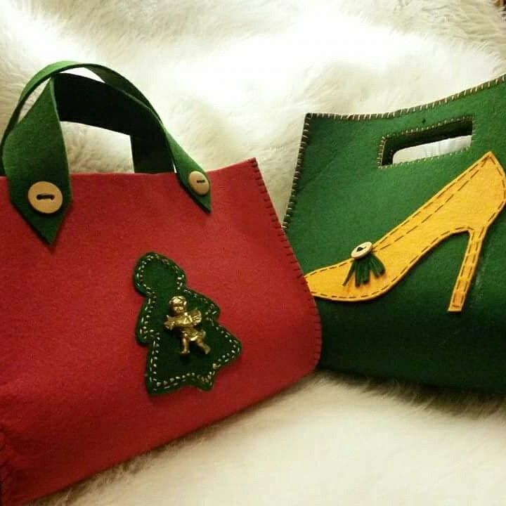 Keçe çanta modelleri 2