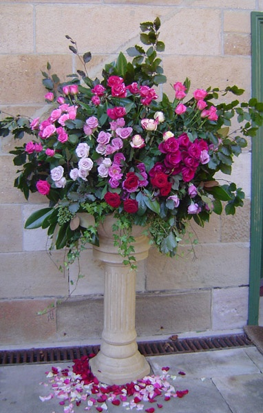 Gallery - Frances Dunn Florist  Large Rose arrangement