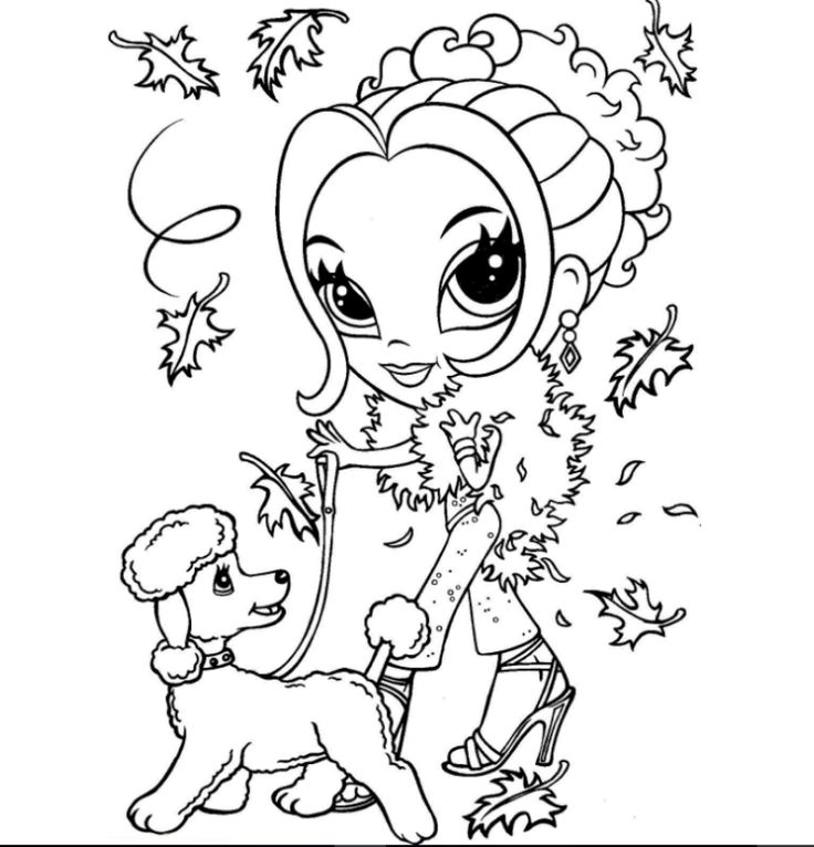 coloring pages of lisa - photo#40