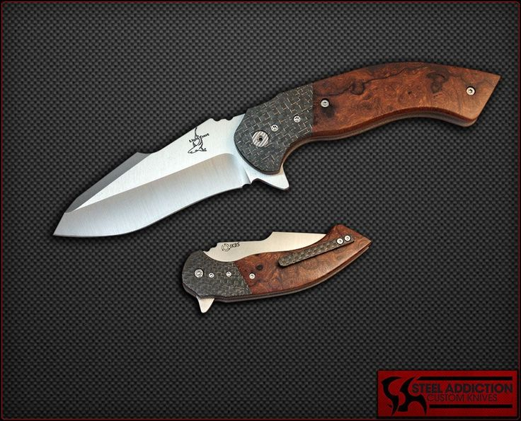Greg Lightfoot Dress Offspring Flipper With IKBS - Folding Knives