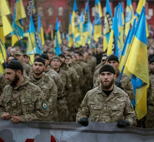 fnhfal:  War in Ukraine -Azov Battalion