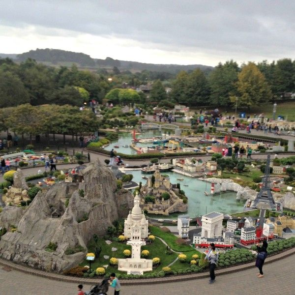 Family Trip to Legoland - Miniland with Miniature Cities