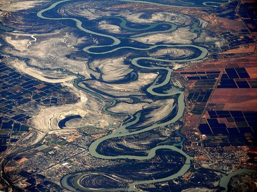 I was born on the Murray River....