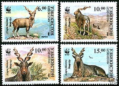 #64-67 Uzbekistan - World Wildlife Fund (MNH) – Hungaria Stamp Exchange
