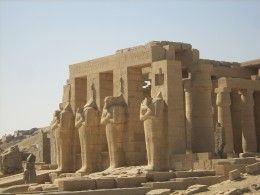The Ramesseum - Mortuary Temple of Pharaoh Ramses II - Own Image