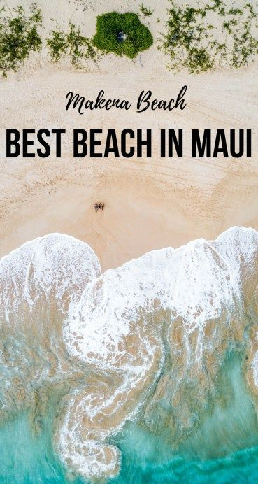 LARGEST SANDY BEACH IN MAUI: MAKENA BEACH - Maui Travel Tips, Best beach in Maui, Hawaii Travel Tips | Wanderlustyle.com #hawaiitravel