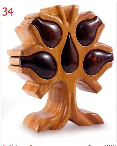 tree shaped bandsaw box