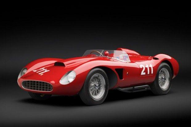 1957 Ferrari 625 TRC Scaglietti Spider