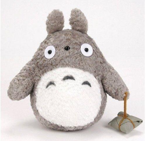 """My Neighbor Totoro 9"""" tall gray Totoro Plush Totoro"""
