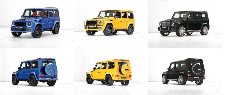 Niebieski, żółty czy klasyczny czarny?  Sposobów na modyfikację Mercedesa G 63 AMG jest wiele - pod warunkiem, że będzie to BRABUS!   Sprawdź już teraz jakie są możliwości personalizacji legendarnej Gelendy w Brabus JR Tuning: http://www.brabus-jrtuning.pl/index.php/oferta-tuningu-mercedes-benz/klasa-g-w463.html