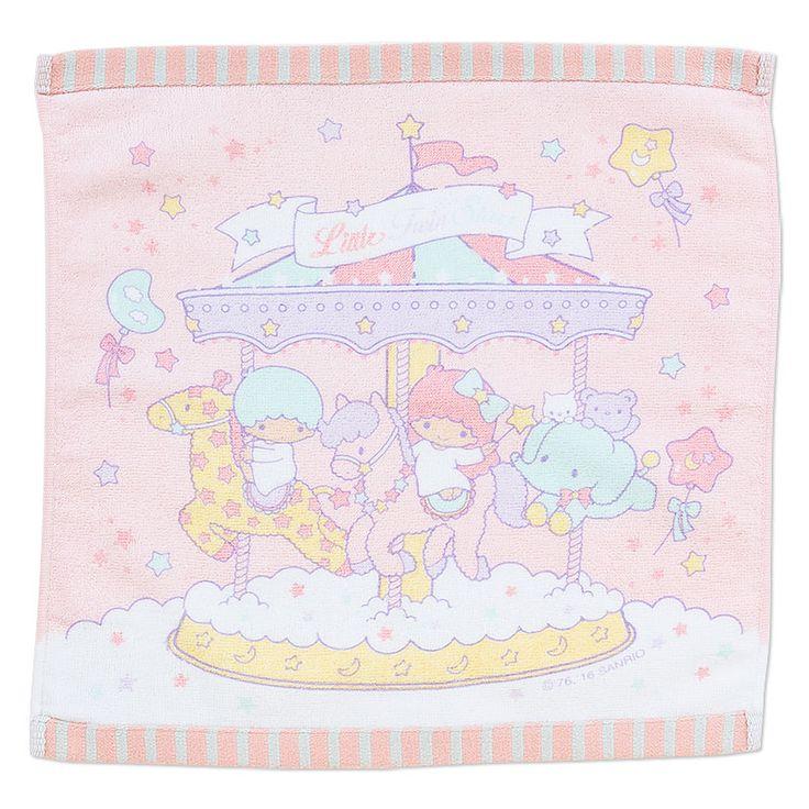 【2016】★Handkerchief ★540円(税込), 約35x34cm ★ #SanrioOriginal ★ #LittleTwinStars