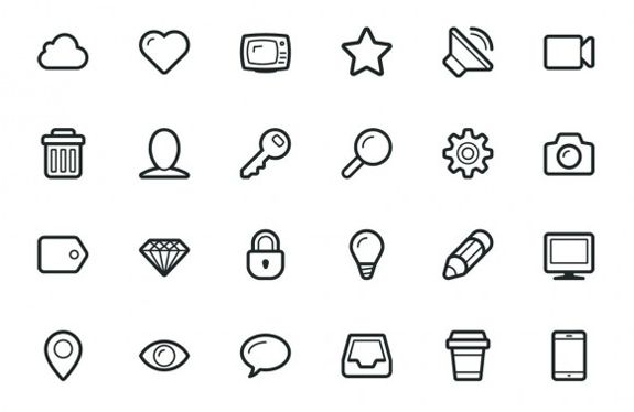 25+ Free Icon Sets You Must Have | The Design Work