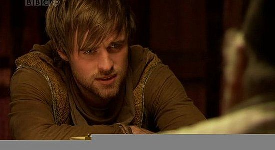 Robin in BBC's Robin Hood (Jonas Armstrong. He's not the beefy guy you would expect... but wily. Love him!