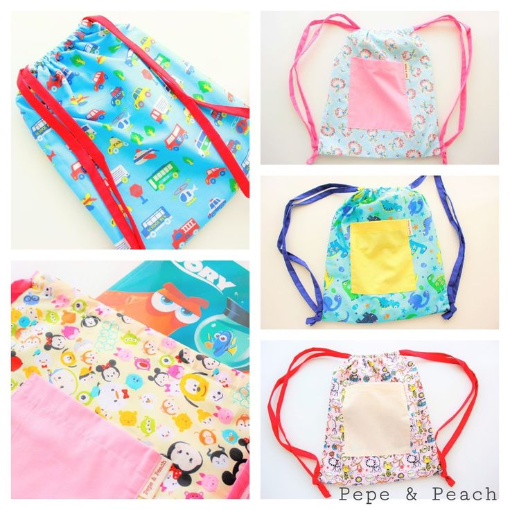 New Product, Drawstring Backpack for Toddlers