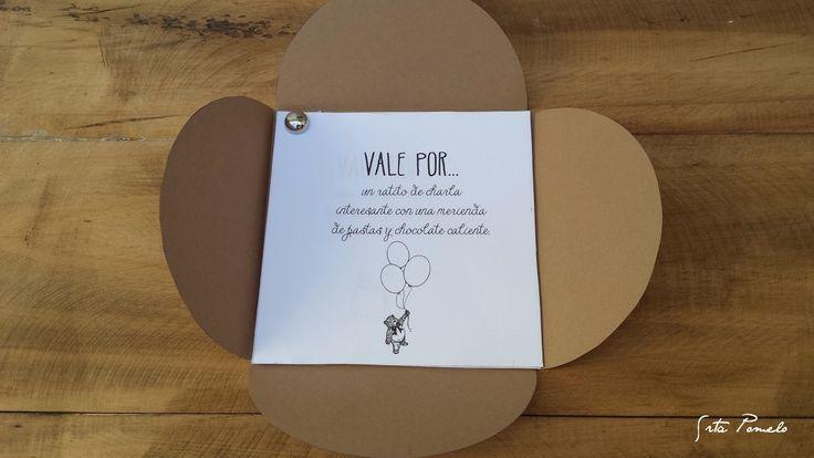 DIY: cómo hacer un sobre regalo   talones VALE POR...