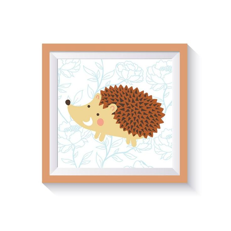 matita cuadro decoracion ilustracion infantil wallart cuadritos infantiles para decorar