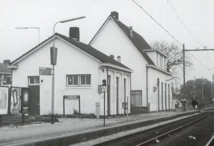 Station Voorburg Nederland ( jaren 70 )