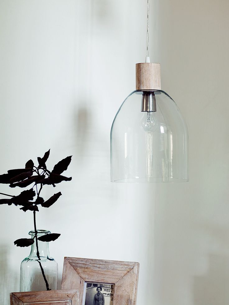NEW Alma Glass Dome Pendant - NEW FOR AUTUMN - Lighting - we'd love to see LED bulbs from our WattNott range in these gorgeous shades.  http://www.plumen.com