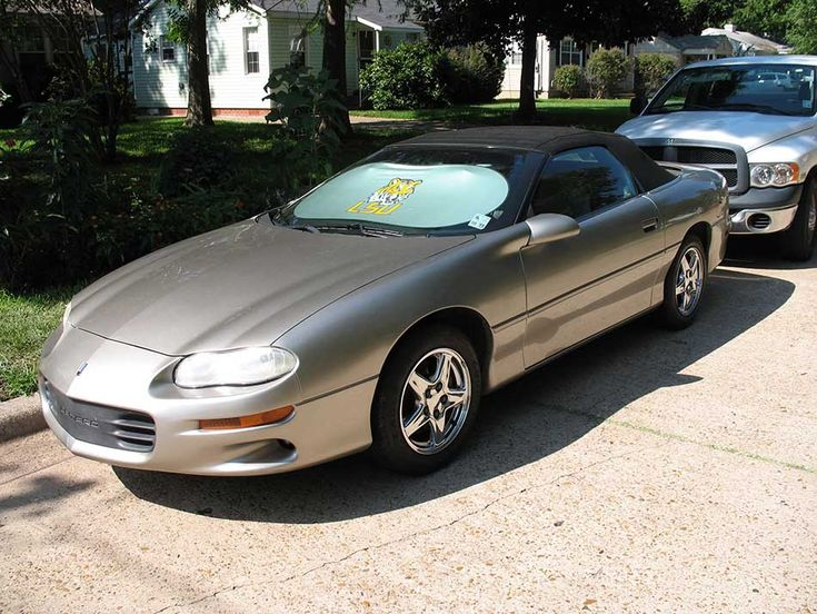 4th gen Pewter 2001 Chevrolet Camaro convertible For Sale