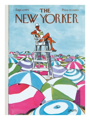 The New Yorker Cover - September 2, 1972  by Charles Saxon - New Yorker Cover Quiz