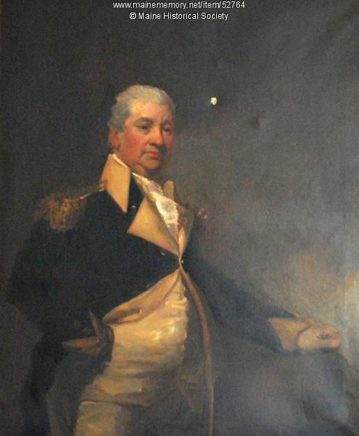 General Henry Knox, ca. 1805 - Gen. Henry Knox (1750-1806), retired to Thomaston, Maine after the Revolutionary War