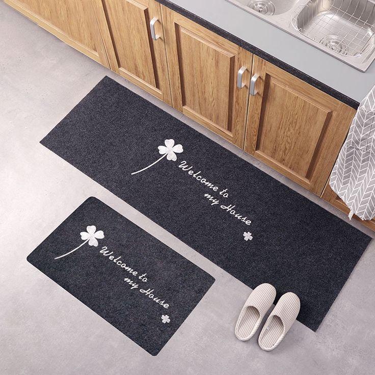 Non Slip Kitchen Floor Mats Kitchen Mats Floor Door Mat Bathroom Carpet